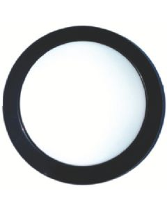 AP Products Blk Surf Mnt Round Led Fixture