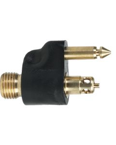"""Moeller 1/4"""" NPT Brass Male Fuel Line Tank Connector for Yamaha"""