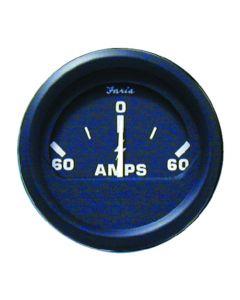 "Euro Ammeter, 2"" , ( 60-0-60 )- Faria"