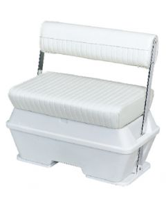 Wise Offshore Swingback 70 Quart Cooler Seat, Bright White