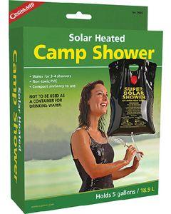 Coghlans Solar Heated Camp Shower - Solar Heated Camp Shower