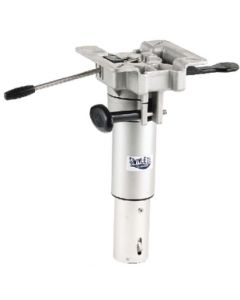 Attwood 13 to 16 Adjustable Height LakeSport 2-3/8 Hydraulic Power Pedestal with Mount - Swivl-Eze