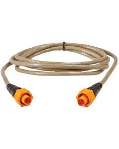 Lowrance Ethernet Extension Cable, Yellow, 15'