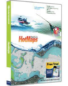 Navionics HotMaps Platinum Lake Maps - North on SD/Micro SD