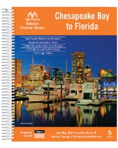 Maptech EMB CR GD CHES BAY-FL 5TH ED