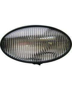 Porchoval W Switch Blkbse Clr - Oval Porch/ Utility Lights