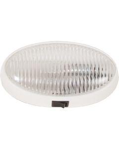 Porch Light Oval W/Switch Clr - Oval Porch/ Utility Lights