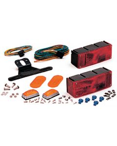 Optronics Waterproof Over 80 Trailer Light Kit