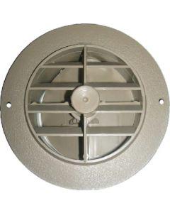 "Rotaire Register Dura Beige - Rotaire 4"" Heat Outlet Vent W/Damper"