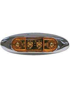 Anderson Marine AMBER LED CLEARANCE LIGHT V168XA