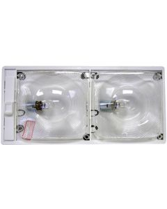 Anderson Marine Ceiling Light Single W/Switch - Deluxe Optic Ceiling Lights