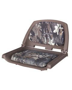 Wise Camouflage Molded Plastic Seat with Cushions
