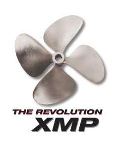 "OJ Propellers XMP 4-Blade 12.5 x 12 LC 1-1/8"" Bore .090 Cup"