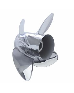 "Michigan Wheel Apollo  14"" x 22"" pitch Counter Rotation 4 Blade Stainless Steel Boat Propeller"