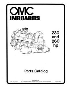Ken Cook Co. OMC Inboard Parts Catalog 980922