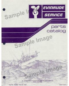Ken Cook Co. 1974 Evinrude Trolling Motor Parts Catalog 279677