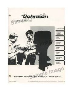 Ken Cook Co. 1970 Johnson Boat Parts Catalog 979608