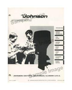 Ken Cook Co. 1970 Johnson Boat Parts Catalog 979606