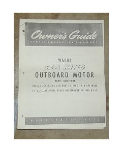 Ken Cook Co. Montgomery Ward - Sea King Outboard Owner's and Parts Manual M335