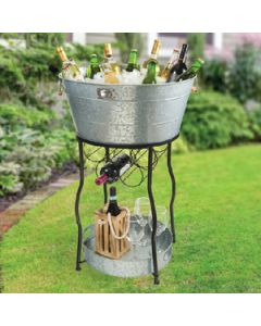 Oasis Galvanized Party Station - Oasis Party Station