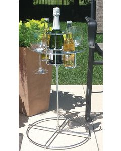 Beverage Stand 5 In 1 - Backyard Butler&Trade; 5 'N One Beverage Stand