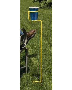 Drink Holder Single Yellow - Backyard Butler&Trade; Drink Holder