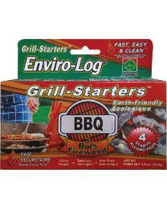 Grill Starters 4/Pk - Enviro-Log&Reg; Grill Starter