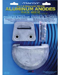 Martyr Anodes Volvo / OMC SX Aluminum Anode Kit
