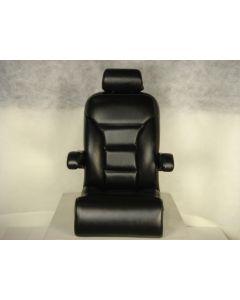 Lexington High Back Reclining Yacht Style Helm Seat with Arms, Headrest & Bolster