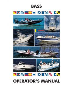 Ken Cook Co. Bass, Fish, Outboard Ski Boats - Boat Owner's Manual
