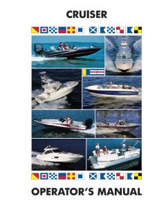 Ken Cook Co. Cruisers - Boat Owner's Manual