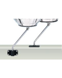 Magma, BBQ Fish-On Type Rod Holder Mount, Grill Mounting Hardware