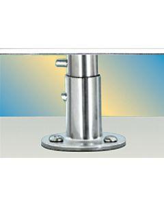 Magma, Single Locking Surface Deck Socket Mount, Grill Mounting Hardware