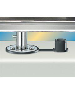 Magma, Gourmet BBQ Flush Single Deck, Grill Mounting Hardware