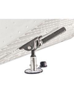 Magma, Single LeveLock Flush Deck Socket Mount, Grill Mounting Hardware