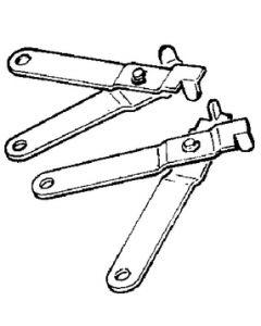 Uflex C5, C16 Mercury Style Connection Kit, Cables To Controls