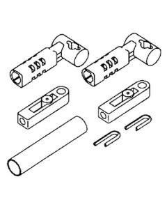Uflex Connection Kit For Merc Engines