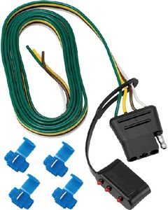 Fulton Products 4-Flat Connector Harness-Vehicle End