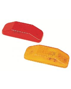 Fulton Products Red Clearance Light - #99 Series Clearance/ Side Marker Light