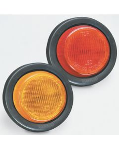 "Fulton Products Clearance Light Red #30 - Waterproof Led 2"" Round Clearance/Side Marker Lights"