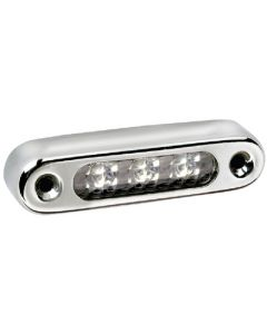 Attwood Stainless Steel Oval LED Horizontal Courtesy Boat Utility Light