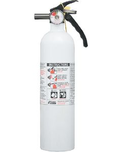 Kidde Safety Fire Extinguisher White 10 B:C
