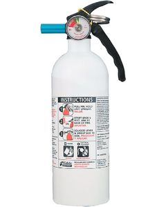 Kidde Safety Fire Extinguisher White 5 B:C