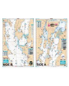 Waterproof Charts Lake Champlain Fishing North