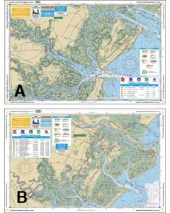 Waterproof Charts Savannah To St. Catherine's Sound