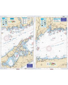 Waterproof Charts Eastern Long Island Sound Coastal Fishing