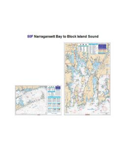 Waterproof Charts Narragansett Bay To Block Island Sound