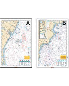 Waterproof Charts Merrimack River,  NH To Cape Elizabeth