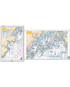 Waterproof Charts Casco Bay To Saco Bay Maine