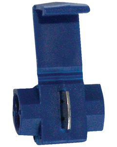 Battery Doctor Blue Self Tapping IDC Splice Connector, 18-14 AWG, 5/Pk.